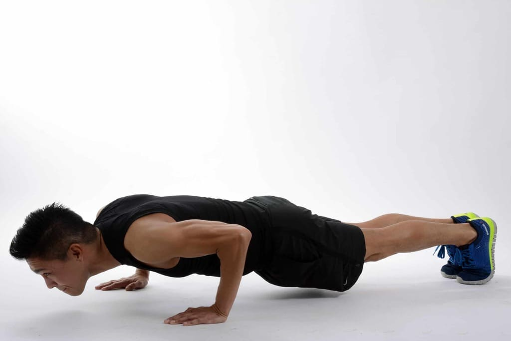4 Exercises to Help You Get to a Push-Up