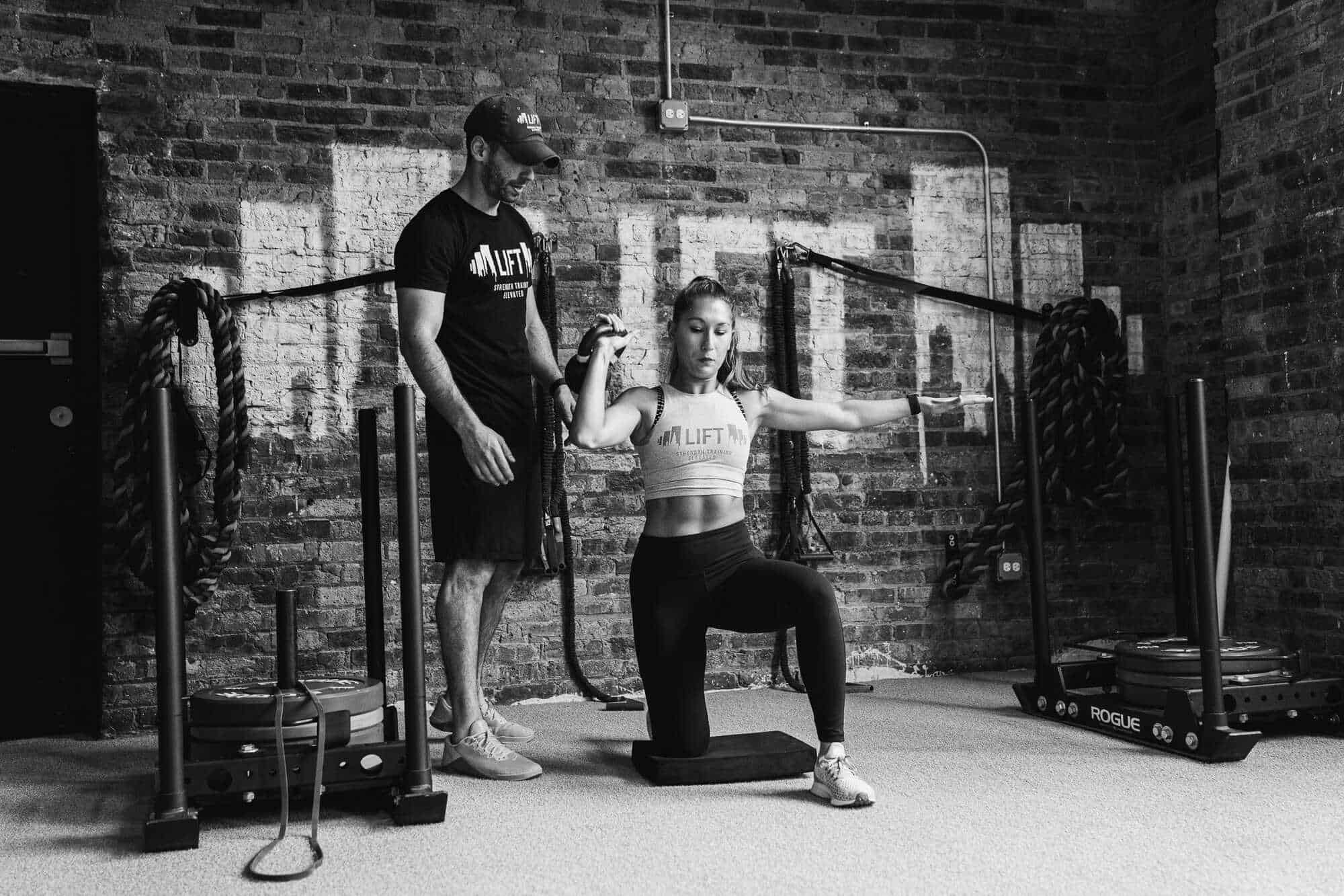 NEW LIFTER (FIRST CONDITIONING CLASS ONLY)